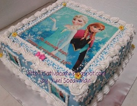 Frozen cake bua mama sophie