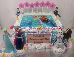 Frozen cake for Zanetta