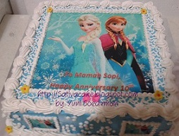 Frozen cake for mama sophie
