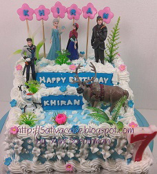 Frozen cake for Khiran