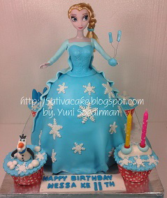 Frozen cake 3D for Zhora
