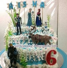 frozen cake pesanan pak lutfi blog