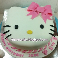 hellokitty cake pesanan m bak erika