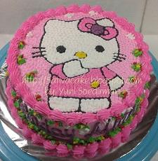 hellokitty cake pesanan mbak heny