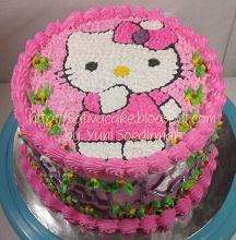 hellokitty cake pesanan mbak yunita