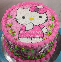 hellokitty cake for kania