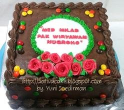 cokelat cake pesanan mbak cabem