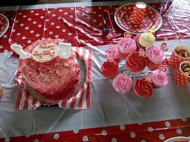ombre cake dan cup cake pesanan mbak pritta