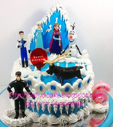 frozen cake buttercream