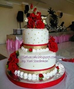 kue pengantin pesanan mbak ifa