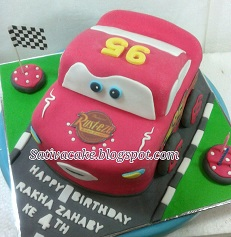mc queent cake 3D pesanan mbak devi