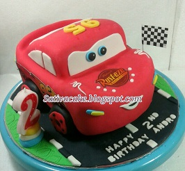 The cars cake 3D for Andro