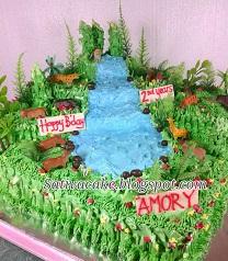 the jungle cake pesanan mbak sherly