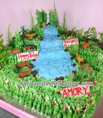 the jungle cake pesanan mbak sherly