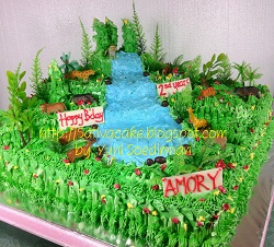 the jungle cake buat amory