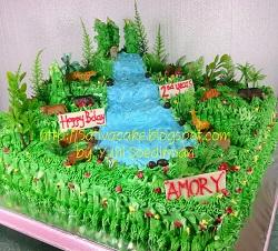 the jungle cake buat amory
