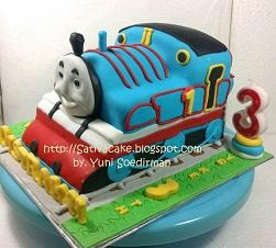 thomas cake 3D