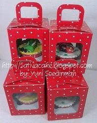 cup cake pack satuan