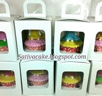 cup cake set packing satuan