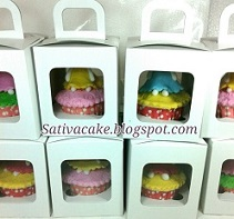 cup cake set packing satuan