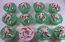 cup cake natal pesanan mba vivi