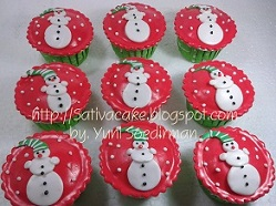 cup cake natal