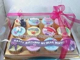 cup cake set pesanan mba putri