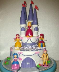 Kastil cake 3D pesanan pak Jaya