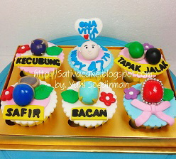 cup cake 3D