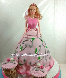 Princess cake 3D pesanan mas Brian
