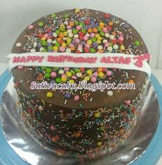 rainbow cake pesanan mba lusi