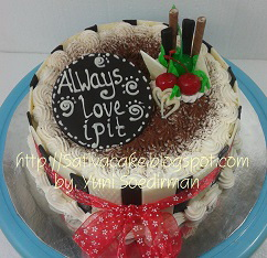 Tiramisu cake pesanan mas anggi