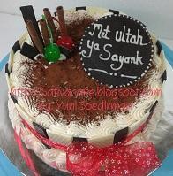 Tiramisu cake pesanan mba Isma