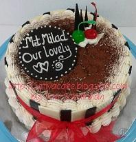 Tiramisu cake pesanan mba Vanny