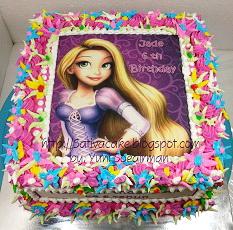 cake ultah edible image