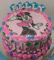 minnie mouse cake buttercream mbak ayu 083708-1 blog1