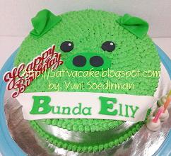 Piggy cake buttercream (mba epeh) 101502blog
