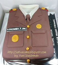 cake uniform kejaksaan negeri