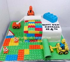 lego cake 3D