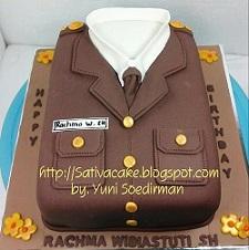 cake seragam kejaksaan